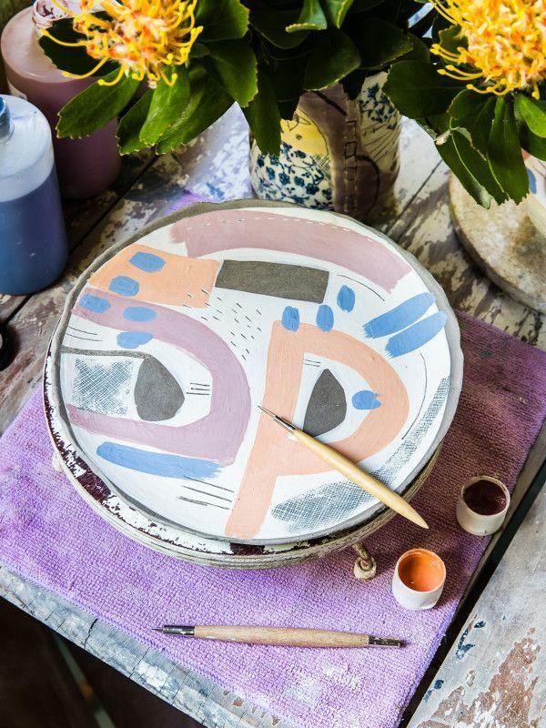 The Tathra, NSW studio of ceramicist Sarah Murray. Photo – Nikki To for The Design Files.