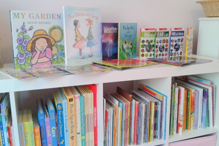 Seasonal Library - Children's Book Rotation Model to keep things fun and interesting during storytime!