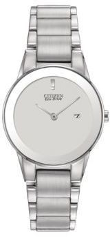 Citizen Ladies Axiom Eco-Drive Stainless Steel Bracelet Watch