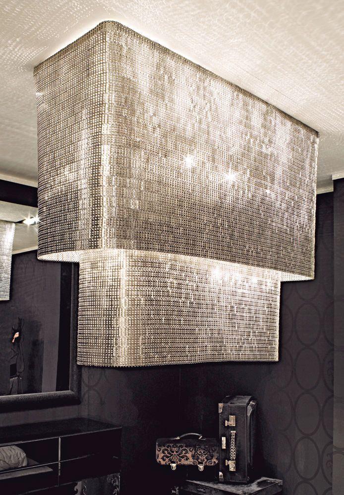 Luxury Lighting Glamorous Penthouse Chandelier Light Fixture