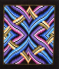 Follow link to several bargello quilt patterns.