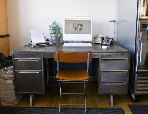 Metal Desk, Chair Color · Gray Home OfficesOffice ...