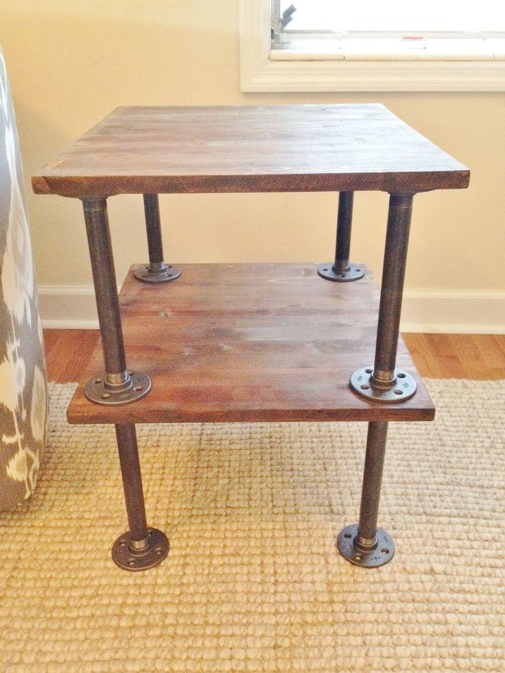 Best 19 Best Industrial Style Steel Pipe Pine Wood Tables 400 x 300