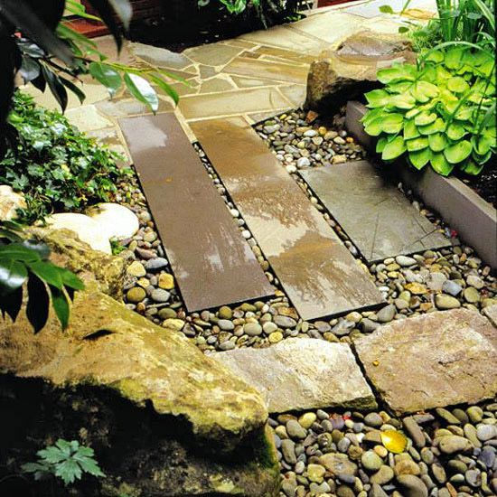 Try a Cover-Up  cover a french drain used to collect surface water