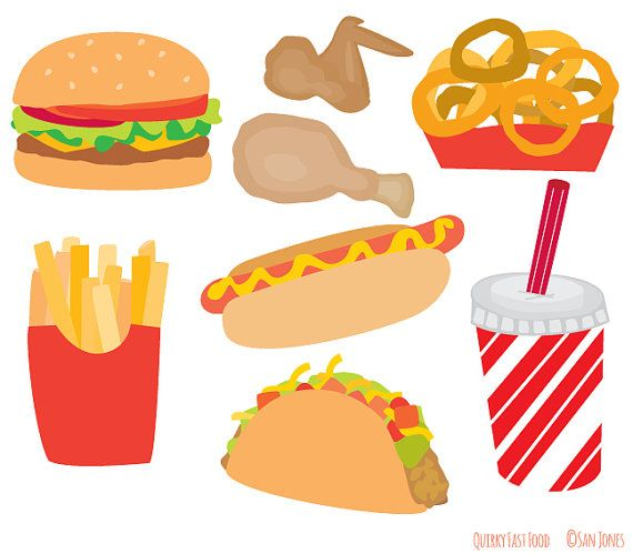 clipart fast food free - photo #31