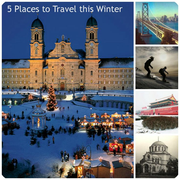 #Travel #TravelIdeas #WinterTravel While some may prefer to enjoy the world's most breathtaking snow-capped peaks, others may love to visit historical landmarks.