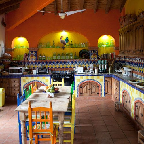 375 best Mexican kitchens\/cocinas images on Pinterest Mexican - mexican kitchen design