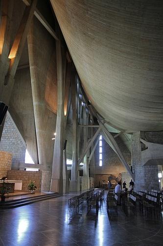 Chiesa dell'Autostrada del sole. Michelucci. Firenze.