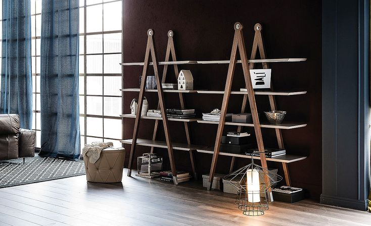 Love these stylish, multipurpose bookcases.