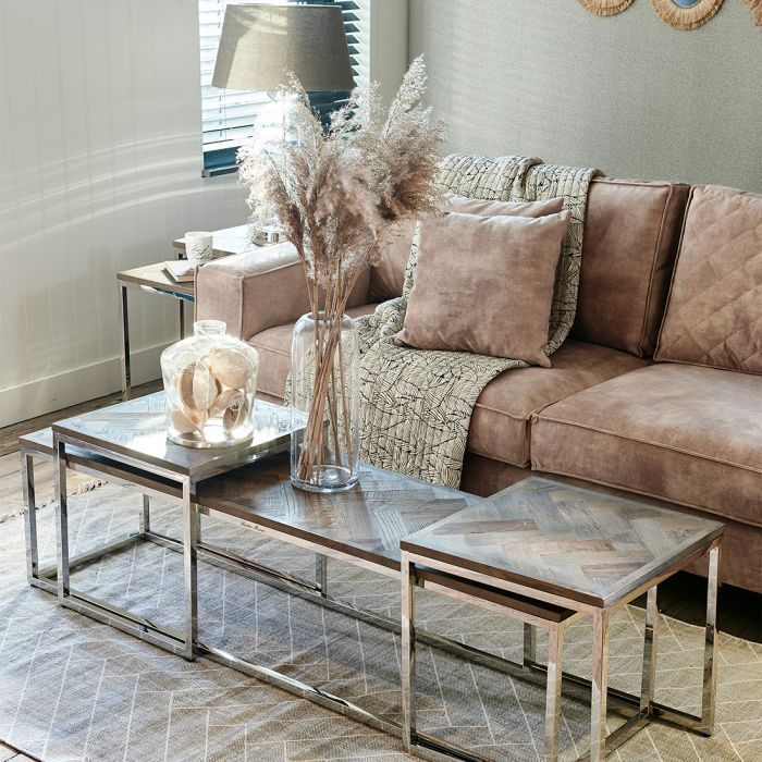Golden Velvet Sofa In 2020 Coffee Table Living Room Design Inspiration Stylish Living Room
