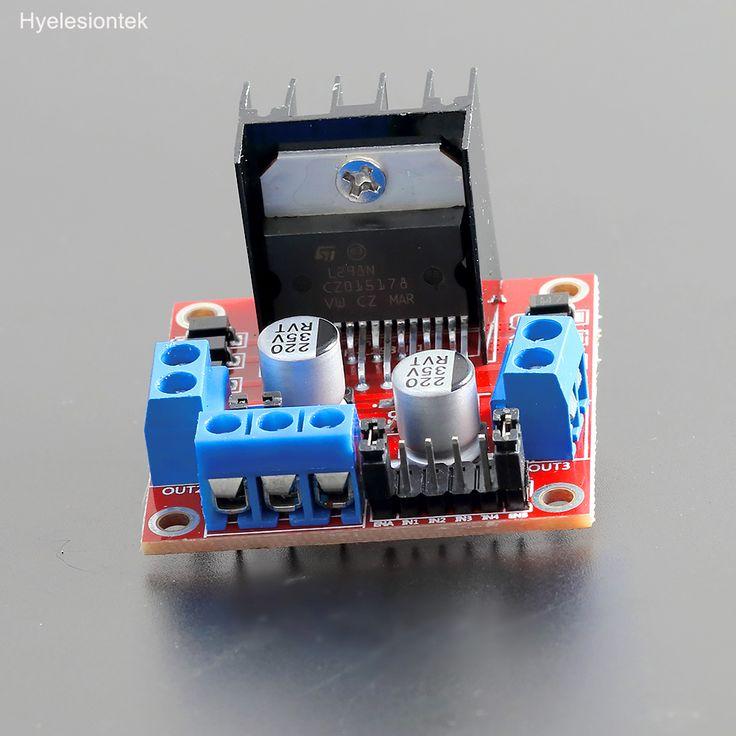 L298N Stepper Motor Driver Board Case For Arduino Dual H Bridge Stepper Motor Controller Module Robot Control Carro intelligent