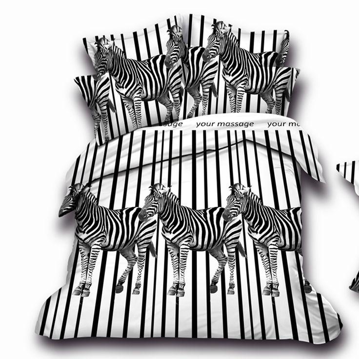 Encontrar Más Conjuntos de Ropa de Cama Información acerca de Animales diseño de la cebra sistema del lecho 3d, de matrimonio ropa de cama, conjuntos duvet / del edredón / ropa de cama / niños chicos cama #30   44, alta calidad juego de jardín, China ropa de etiqueta Proveedores, barato monos de ropa de OCE LUXURY HOME TEXTILE en Aliexpress.com