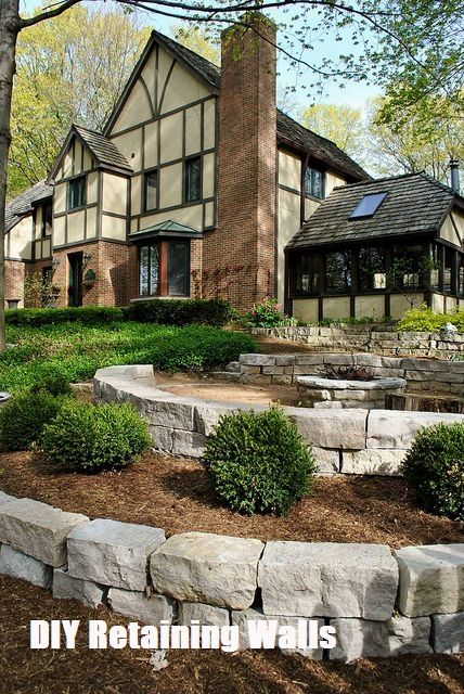 Do It Yourself Home Design: Top 10 Ideas For DIY Retaining Wall Construction