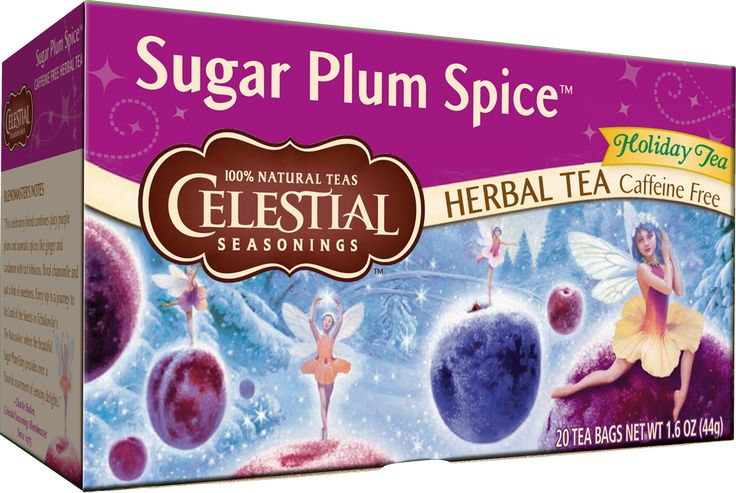 """A rich herbal blend with the festive flavors of ripe purple plums and spices. """