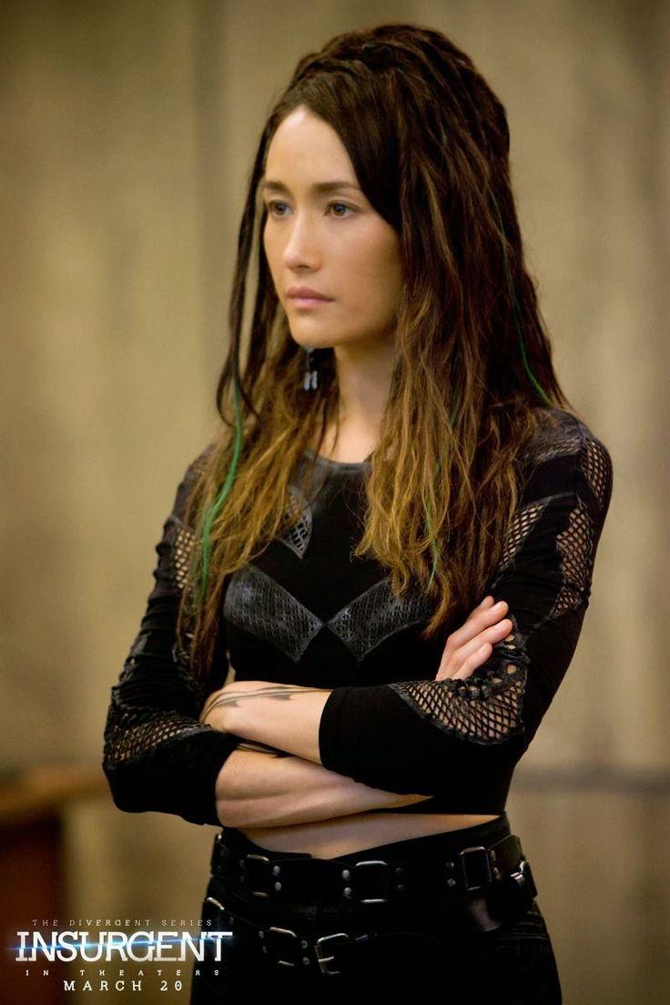Maggie Q as Tori Wu in the Divergent series.