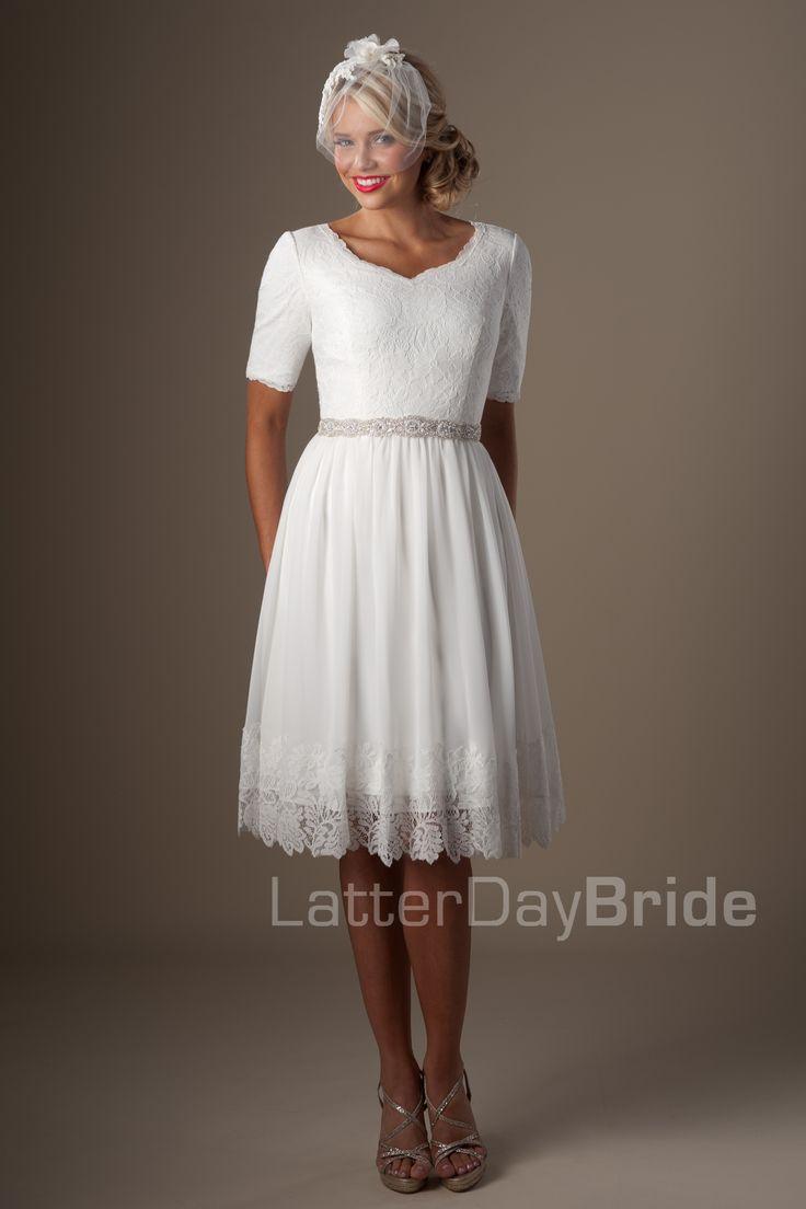17 best images about linda on pinterest golden wedding for Latter day wedding dresses