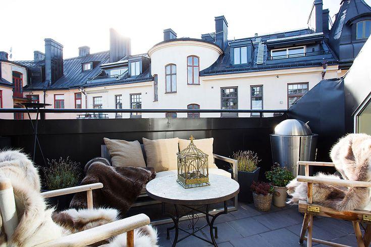 The $2.5 Million Tastefully Decorated Swedish Loft Exuding Coziness