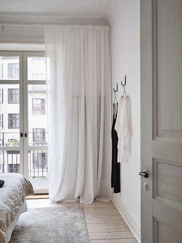 Long White Curtains White Linen Curtains White Curtains Bedroom Curtains Bedroom