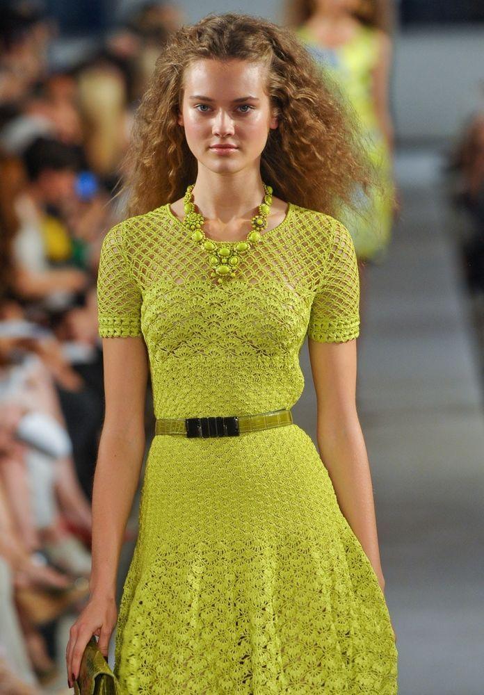 в ожидании лета Handmade в вязаных моделях известных дизайнеров