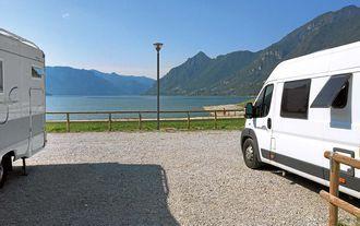 Wohnmobilstellplatz Bagolino, Italien