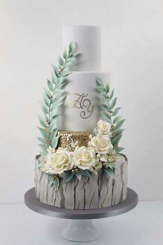 42 Must-See Rustic Woodland Themed Wedding Cakes – backen/Torten/ect