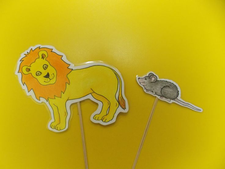 Lev a myška