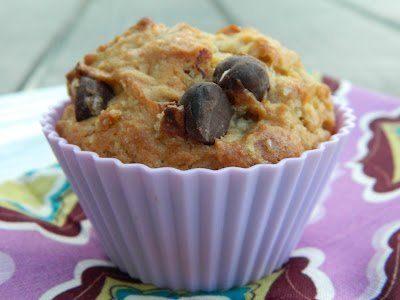 Chocolate Chip Sourdough Muffins by My Naturally Frugal Family