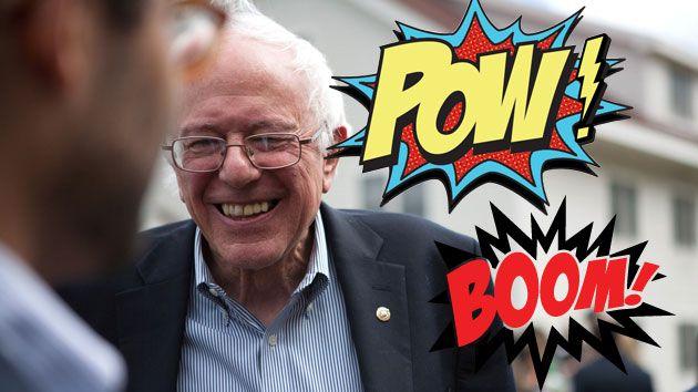 Meet the Comic Book King Running Bernie Sanders' Campaign | Mother Jones