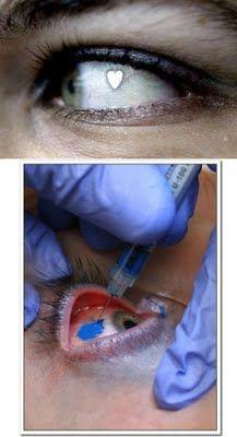 Eye piercings?!?  No Thanks!