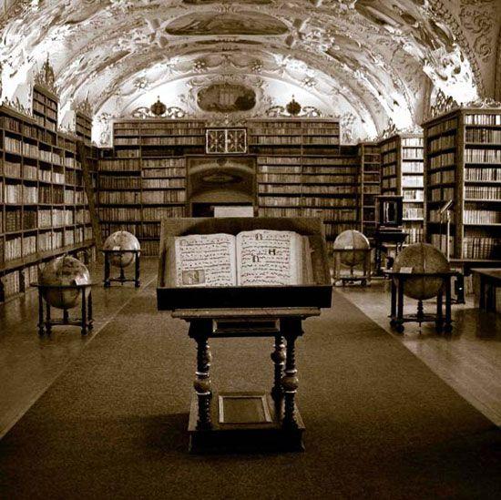 epicas-bibliotecas-mundo11 Biblioteca de Strahov Monastery de Praga