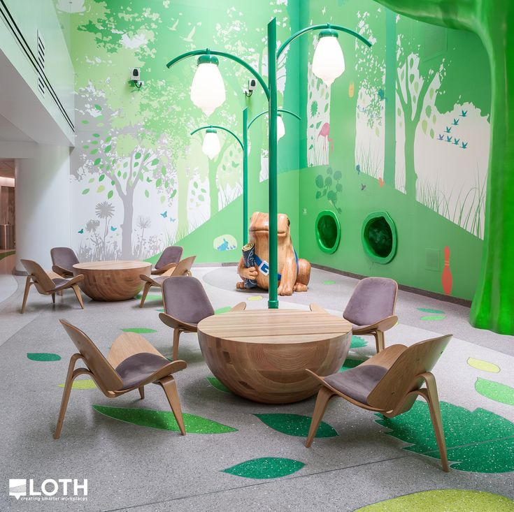 Nationwide Children's Hospital: The Magic Forest, an interactive play and relaxation area built to take your family's mind off being at the hospital.