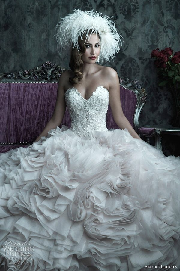 love all the texture...: Wedding Dressses, Allure Couture, Ball Gowns, Bridal Dresses, Dreams Wedding Dresses, Bridal Gowns, Allure Bridal, Dreams Dresses, The Dresses