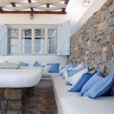 Greek summer house ♥ Гръцка лятна къща | 79 Ideas