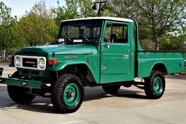 Clean HJ45 Pickup