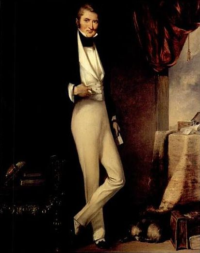 Portrait of Dr. William Jardine by George Chinnery (1774-1852). William Jardine (1784 – 1843) was a Scottish physician and merchant who co-founded the Hong Kong conglomerate Jardine, Matheson and Company.