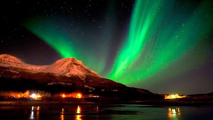 • See the Northern Lights.