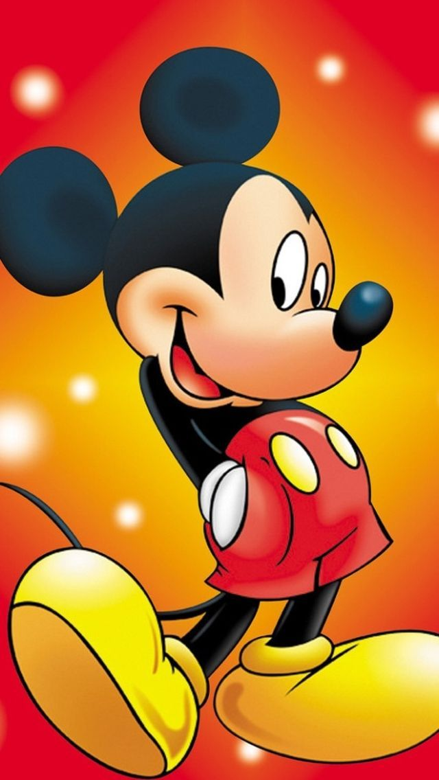 Iphone 5 Wallpaper Mickey Mouse
