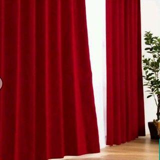 ニトリ - 遮光カーテンの通販 by Himmel|ニトリならフリル ニトリ(ニトリ)の遮光カーテン インテリア/住まい/日用品のカーテン/ブラインド