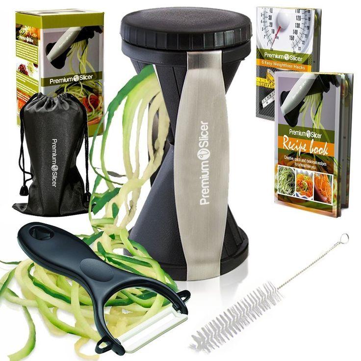 Vegetable Spiralizer Bundle Only $11.97!