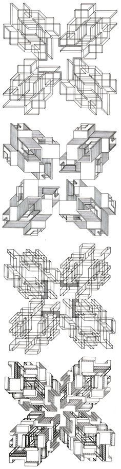 Aldo Rossi- Centro Direzionale, Florence, 1977 - Google Search kind of what we're doing with our plan drawings
