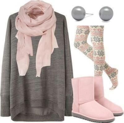 winter outfits tumblr | Fashion » Sweet Soft Winter Outfit