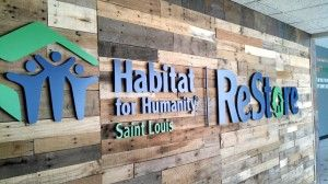 Habitat for Humanity opened a new ReStore location in DesPeres! Great spot for salvaged and unique items.