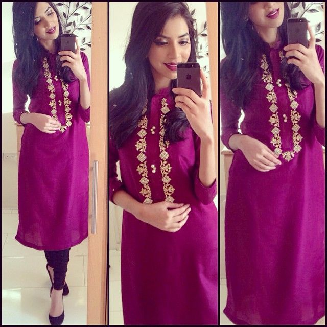 Loveeee this comfortable kurta top! From @kurtakouture perfect for a casual day out to cousins, mum always got me & my sisters to wear salwar kameez when going to visit our cousins just coz it looks a bit more modest than westernise clothes! 100% agree! Thank you so much @kurtakouture  used my #bombayhair 5 in 1 curler to achieve these loose waves xxx