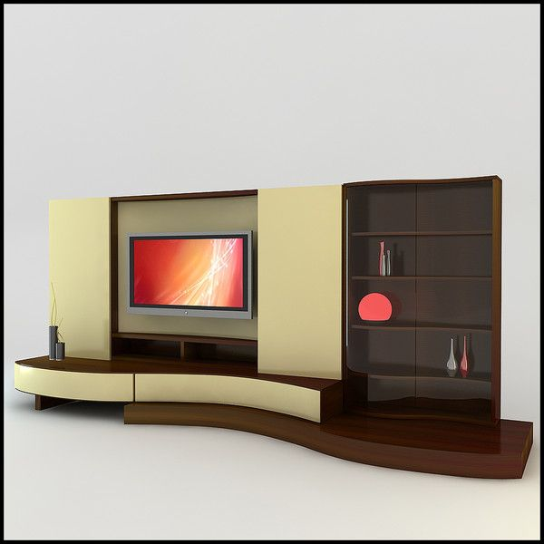 17 best images about tv unit on pinterest modern wall units modern tv wall units and modern - Modern tv interior design ...