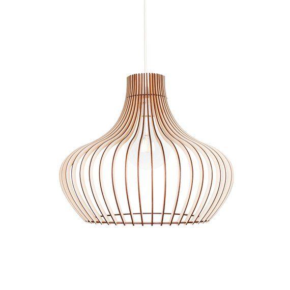 Kwud Modernen Skandinavischen Stil Decke Montieren Holz Anhanger