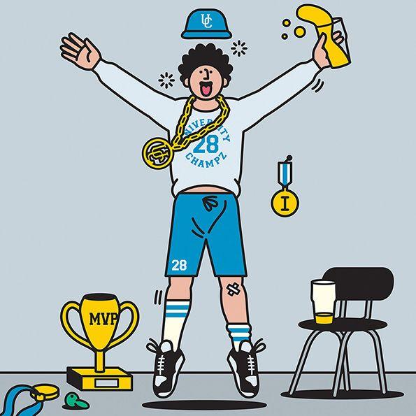 Gym Life | The Jock Strap | Rami Niemi | Illustration