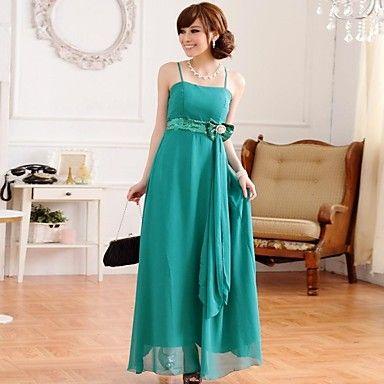 hanee ® vrouwen Europese stijl heldere diamanten band lange jurk – EUR € 23.93