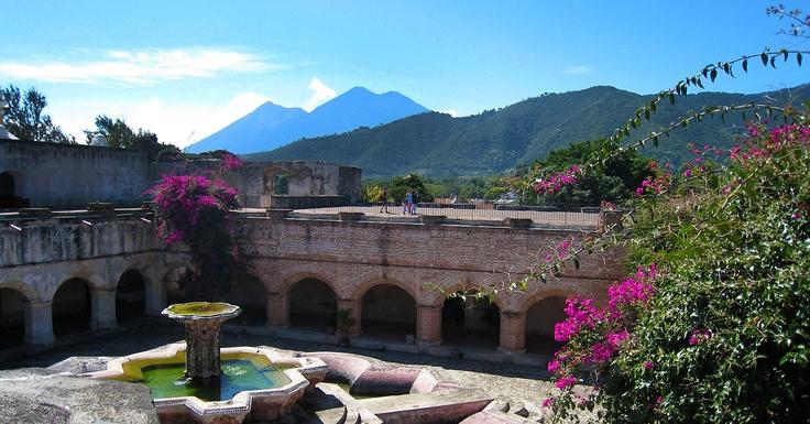 Convento La Merced. Antigua, Guatemala.