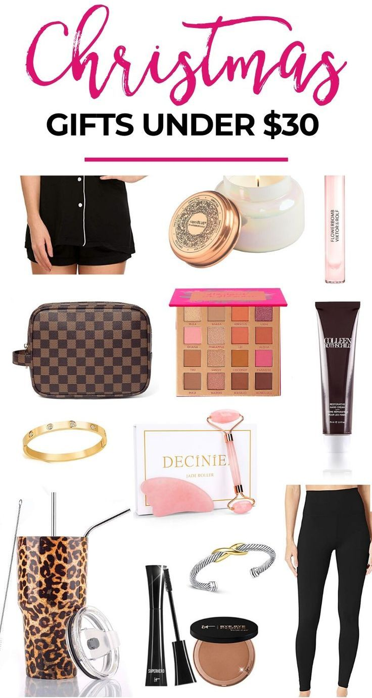 Christmas gift guide for women under 30 christmas gifts