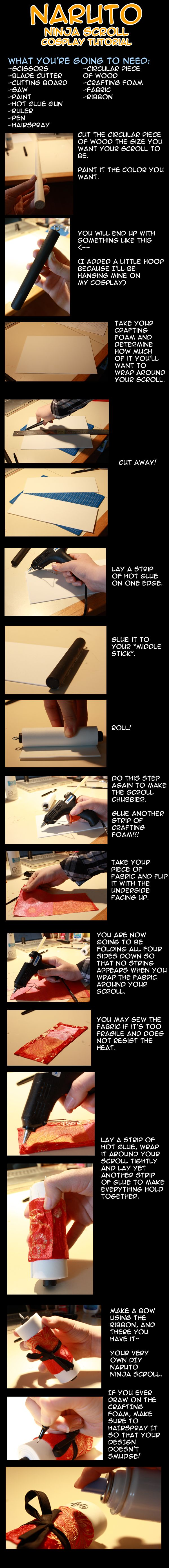 Naruto Ninja Scroll Tutorial by LiquidNytrogen.deviantart.com on @deviantART